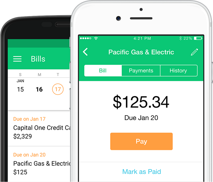 Mint app updated with bill tracking and payment