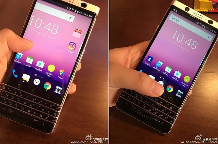 BlackBerry's last keyboard phone developed in-house possibly leaked