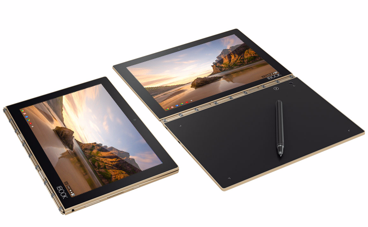 Lenovo's funky Yoga Book laptop will get a Chrome OS option next year