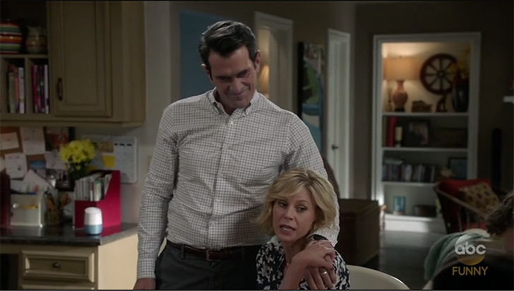 Google Home makes a guest appearance on Modern Family to the absolute delight of Phil
