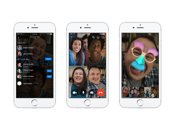 Group video chats now rolling out to Facebook Messenger