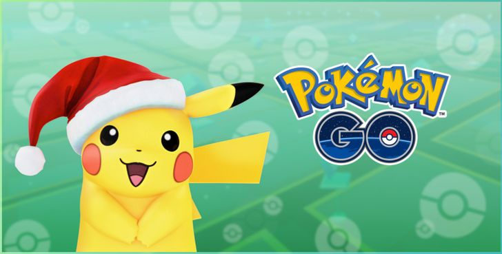 Pokémon GO holiday update includes new egg monsters and a hat