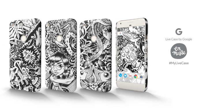 Google brings street art to the Live Cases with En Masse