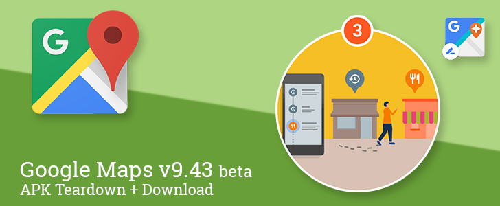 Google Maps v9.43 beta adds a shortcut to contributions and changes a couple notification settings, prepares to offer recommendations from the menu and more [APK Teardown + Download]