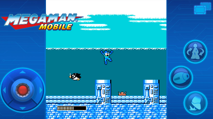 Well, it turns out those Android Mega Man ports look like a tremendous pile of crap