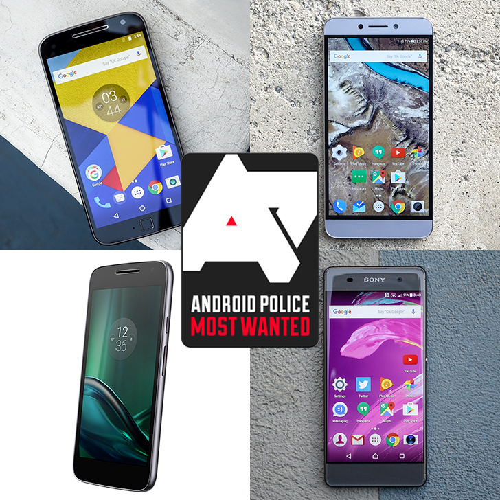 Most Wanted: The top budget (<$250) smartphones of 2016