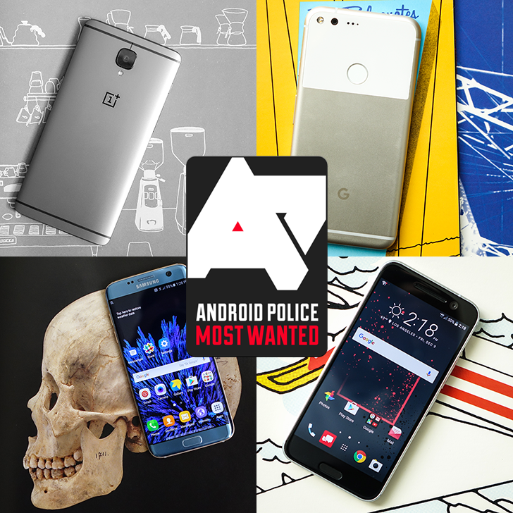 Most Wanted: The top smartphones of 2016