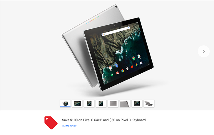 [Deal Alert] Save $100 on the 64GB Pixel C and $50 on the Pixel C Keyboard from the Google Store