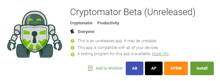 Cryptomator takes a stab at securing your cloud files with transparent, client-side encryption