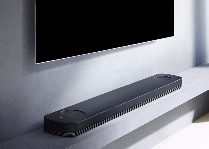 LG's new SJ soundbar series brings Chromecast, high-resolution audio, and Dolby Atmos