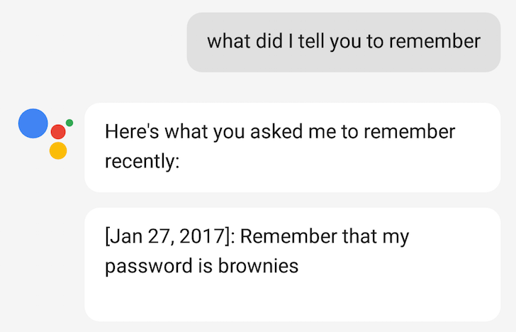 PSA: Google Assistant can remember things, on Allo, Pixel, and Home