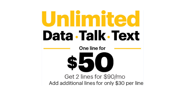New customers can get unlimited data, calls, and texts for $50 on Sprint