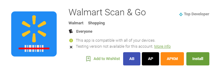Walmart finally rolls out its Scan & Go app to Android