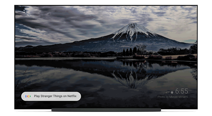 Google Assistant on Android TV supports continuous conversation mode