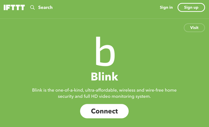 Blink security camera adds IFTTT channel for smarter arming, disarming, and more automations