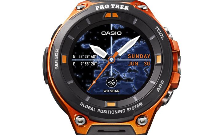Casio's new rugged Android Wear watch will launch in April with Wear 2.0