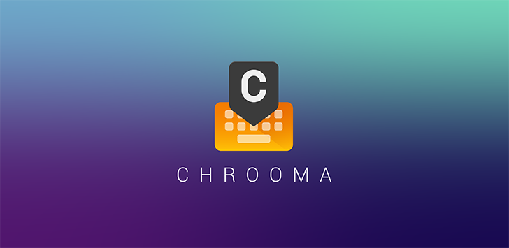 Chrooma Keyboard 4 adds GIF search, colored navbar, emoji suggestions, word blacklist, more