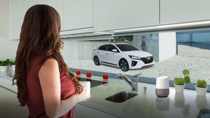Hyundai announces support for Google Home control of cars via Blue Link
