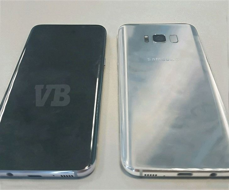 "VentureBeat posts first live photo of the Galaxy S8, claims massive 5.8"" and 6.2"" displays, March 29th announcement"