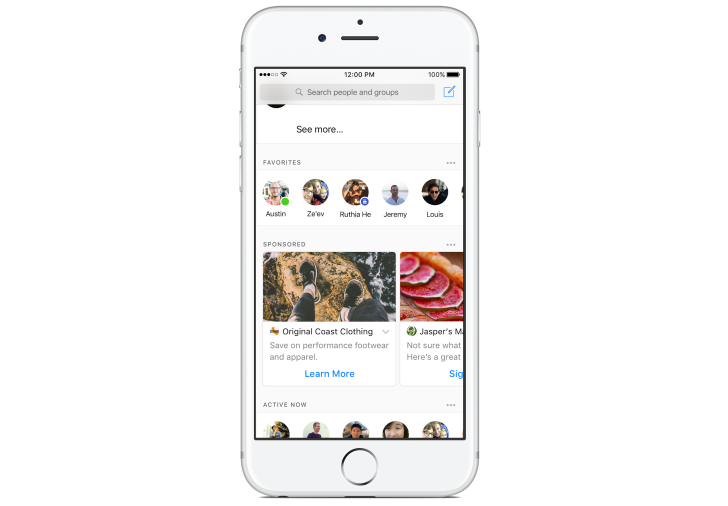 Facebook starts testing Sponsored ads in Messenger