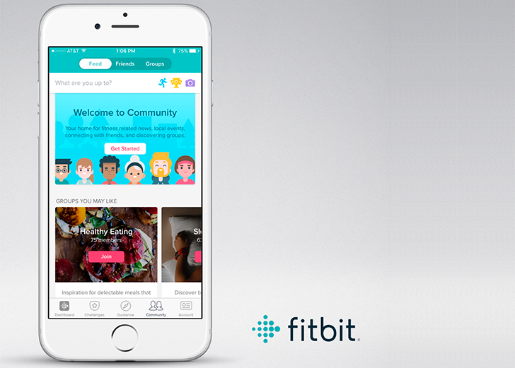 Fitbit announces improved community aspect with groups and personal goal setting