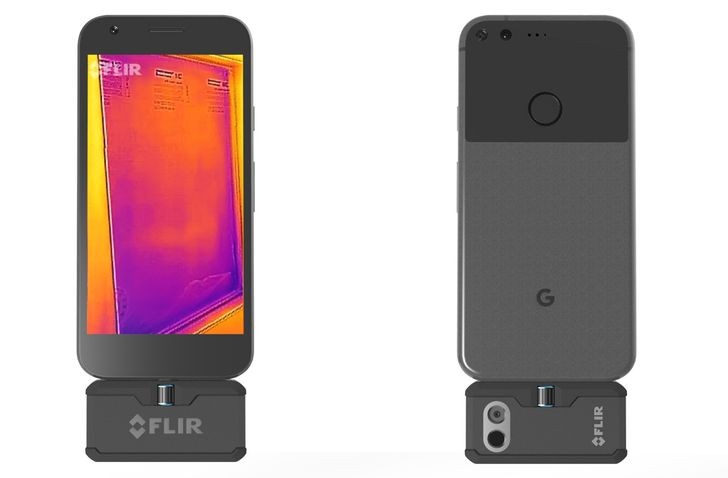 FLIR announces third-gen FLIR One smartphone thermal camera with USB Type-C, plus drone thermal cameras
