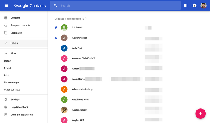 [Hands-On] Google Contacts web rolls out a better looking Material Design interface to everyone