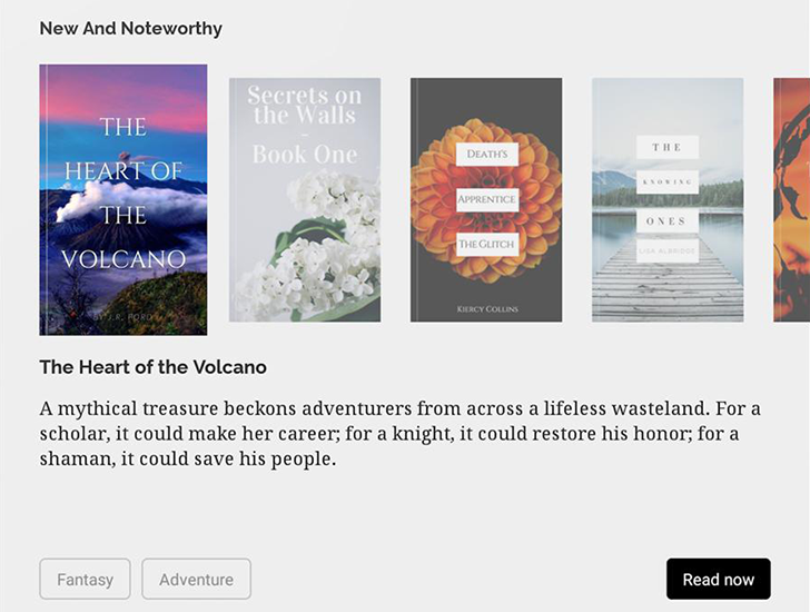 Indie book publishing and reading service Inkitt brings its app to the Play Store