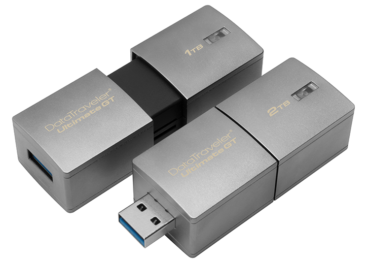 Kingston announces 1TB and 2TB flash drives, because why not
