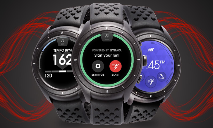 New Balance launches the $300 RunIQ Android Wear watch with GPS, Strava, and an Intel processor