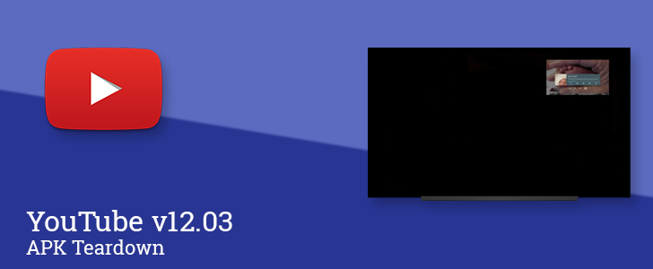 YouTube v12.03 hints at intelligent auto-download for offline viewing, Picture-in-Picture support for Android TV, and viewer polls [APK Teardown]