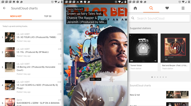 SoundCloud Go adds a mid-tier $5 subscription option, old $10 plan is now 'Go+'