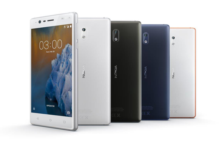 HMD Global launches Nokia 3, 5, and 6 in India