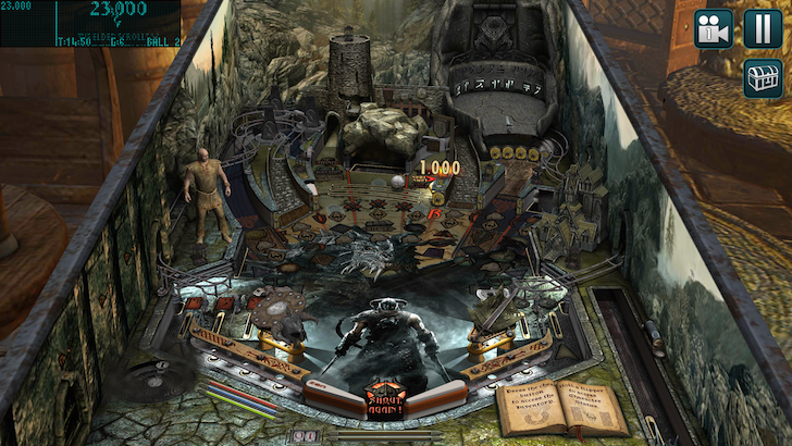Zen Studios releases Bethesda Pinball, packing Skyrim, Fallout, and DOOM tables