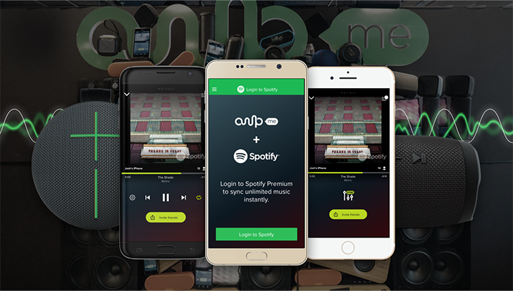 AmpMe adds Spotify streaming to its multi-device music party app