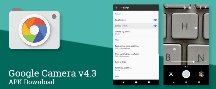 Google Camera v4.3 adds a new zoom bar control, tweaks exposure control behavior, and allows muting camera sounds [APK Download]