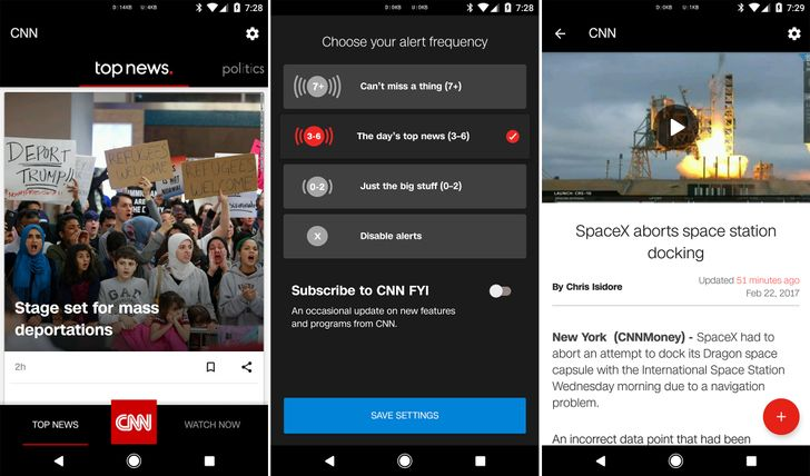 CNN app gets a full redesign in v5.0 update