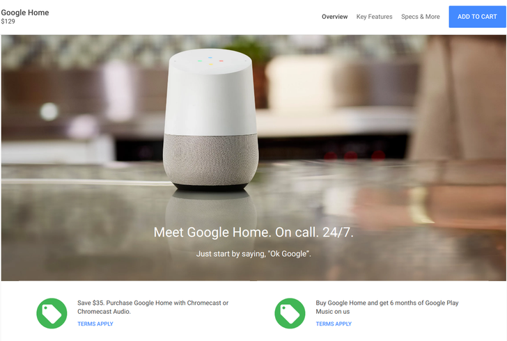 [Deal Alert] Save $35 when you buy a Google Home and Chromecast or Chromecast Audio