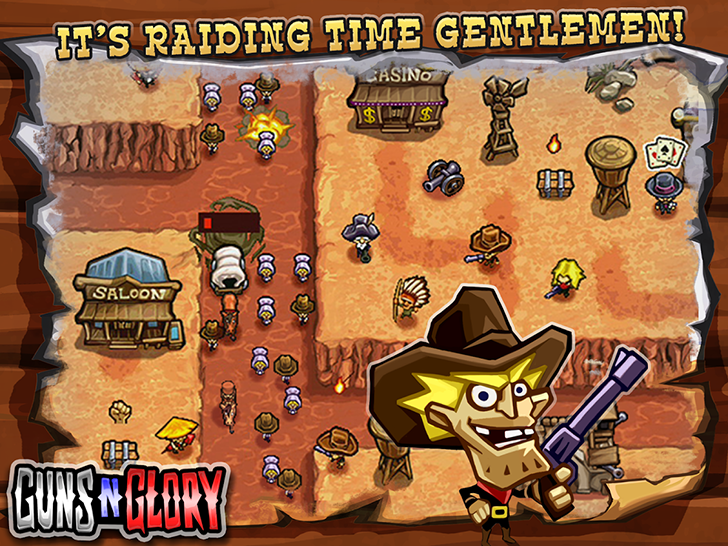 [Deal Alert] Guns'n'Glory Premium is down to 10 cents on the Play Store worldwide
