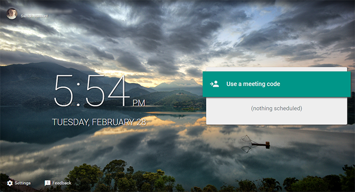 'Meet by Google Hangouts' is a new conferencing service for enterprise use