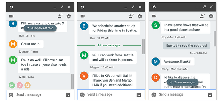 Hangouts redesigns the unread message indicators [APK Download]