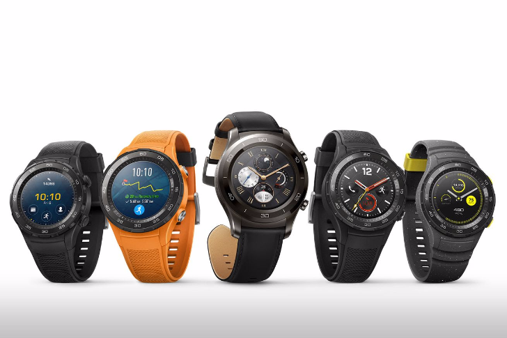 Huawei announces the sportier, chunkier Watch 2 with GPS, Android Pay, and an LTE option