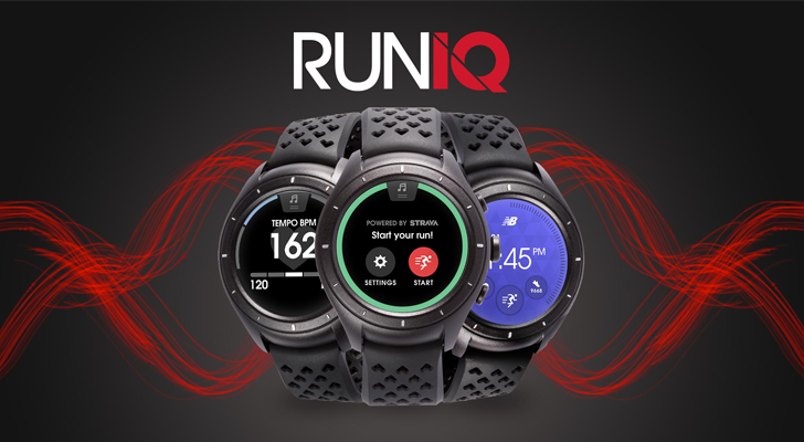 The New Balance RunIQ, powered by Android Wear, is now on sale for $299.99
