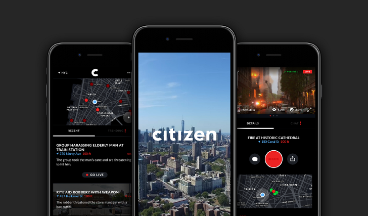 Crime awareness app Vigilante is now Citizen, launching on Android