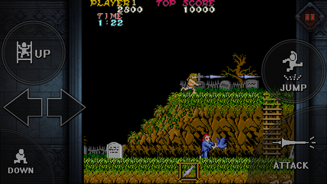 The original Ghosts 'N Goblins comes to the Play Store for one dollar