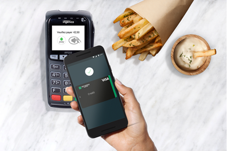 [Update: Maestro cards and more banks] Belgium is the tenth country to get the Android Pay treatment