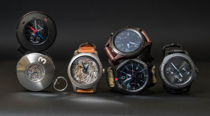 Samsung shows off some wacky new concept versions of the Gear S3 at watch conference