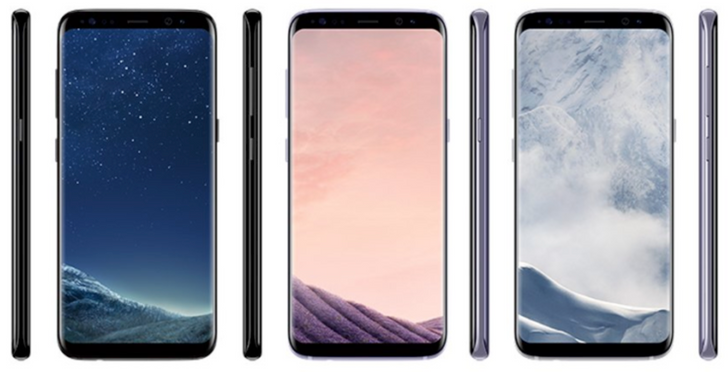 [Update: Another pic] More images and European pricing for the Samsung Galaxy S8 and S8 plus leak