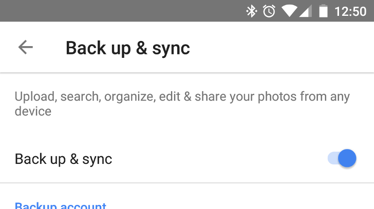 Google Photos adds new backup option for spotty cellular connections