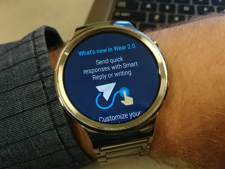 Huawei DE hints that Android Wear 2.0 could be rolling at the end of March